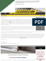 Corrosión en Uniones Soldadas