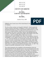 County of Greene v. Daniel, 102 U.S. 187 (1880)