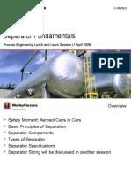 Separator Fundamentals - Process Design.ppt