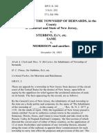 Bernards Township v. Stebbins, 109 U.S. 341 (1883)