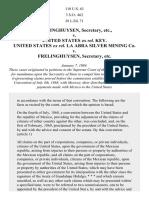 Frelinghuysen v. Key, 110 U.S. 63 (1884)