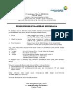 Penguman Penawaran Kerjasama Unit DPP (18-24 Feb 2014)