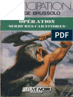 1988 - Operation Serrures Carnivores - Brussolo, Serge