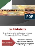 Clase Totalitarismo
