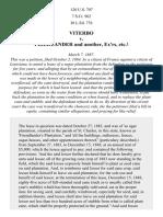 Viterbo v. Friedlander, 120 U.S. 707 (1887)