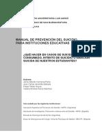 MANUAL DE PREVENCIÓN DEL SUICIDIO