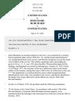 United States v. Burchard, 125 U.S. 176 (1888)