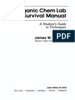 The Organic Chemistry Laboratory Survival Manual 2d Ed - James Zubrick
