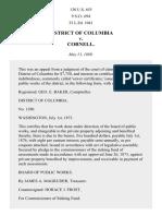 District of Columbia v. Cornell, 130 U.S. 655 (1889)