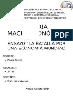 ENSAYO TEORIAS DE HACKEY Y KEYNES