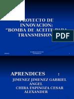 Bomba de Aceite Para Transmision
