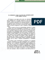El Derecho como factor de conservación y de cambio social (Agustín Basave)