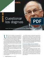 Cuestionar Los Dogmas Daniel Kahneman