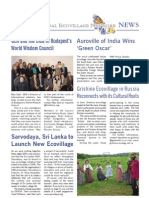 Global Eco Village Network News, Issue 43