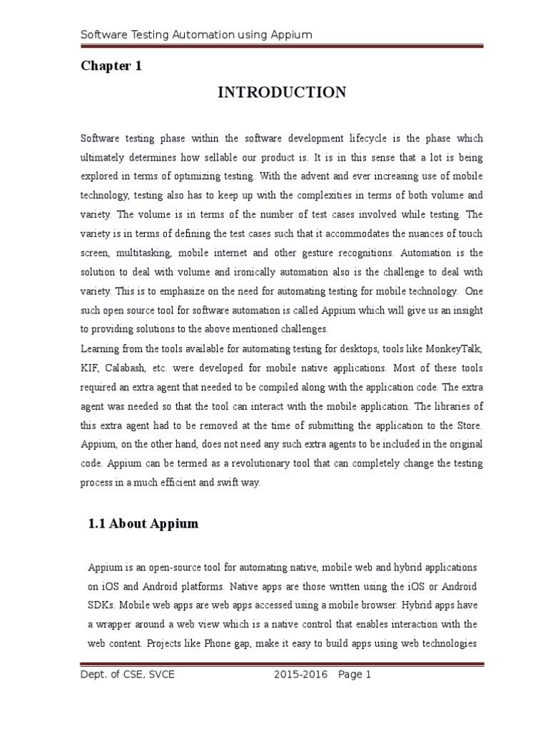 Software-Testing-Automation-Using-Appium | Selenium