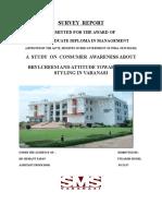 BABA SURVEY  REPORT (1).docx