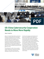U.S.-China Cybersecurity Cooperation Needs to Move More Rapidly