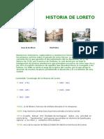 Historia de Loreto