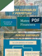Rentas Variables y Perpetuas