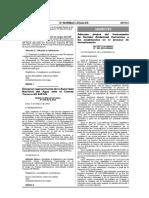 d.s. 001-2013-Minam Adecuan Plazos Del Igac a Los Establecidos en El Proceso de Formalizacion