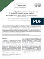 Haematococcus (2007) - (Kaewpintong Et Al.) - Photoautotrophic High-Density Cultivation of Vegetative Cells