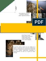 Informe de Construcciones Mineras