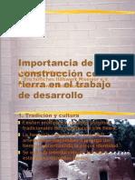 Importancia de La Construccion Con Tierra Esp