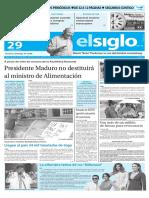 Edición Impresa El Siglo 29-04-2016