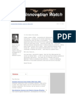 Innovation Watch Newsletter 9.10 - May 8, 2010