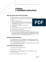 SPSS v11.5 Smart Viewer Installation Instructions
