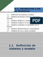 1. Introducción Sistemas Dinámicos