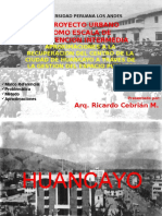 Conferencia Arq. Ricardo Cebrian Huancayo