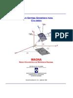 Nuevo Sistema Geodésico Para Colombia Magna
