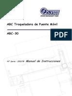 ABC-30 200178 Operation Manual Spanish