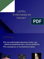 Lepra Infectologia Slides