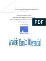 analisis termico diferencial