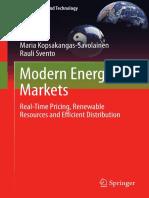 #Modern Energy Markets