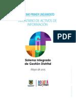 Lineamiento 11 Inventario de Activos de Informacion
