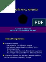 11. Iron Deficiency Anemia 2012