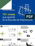 101 Cosas Que Aprendi en La Escuela de Arquitectura - ArquiLibros - AL