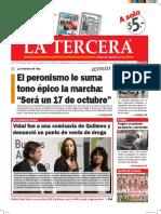 Diario La Tercera 29.04.2016