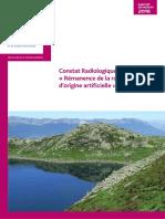Rapport sur les effets des essais nucléaires en France