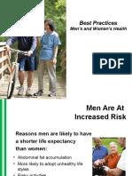 Best Practieces for Men's and Women's Heatlh - Presentation