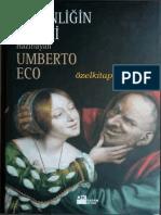 Umberto Eco - Cirkinliğin Tarihi.pdf