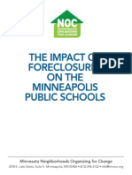 (2011) NOC Minneapolis Schools Foreclosure Study
