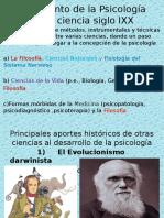 Nacimiento de La Psicología Como Ciencia Siglo IXX