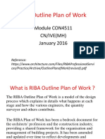 RIBA Outline Plan of Work