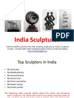 India Sculptures - India Art Gallery