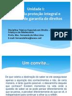 UnidadeI DCA Introduoao Direito da Criana e do Adolescente