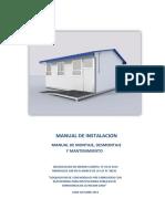 Manual de Instalacion Montaje Desmontaje y Matenimiento